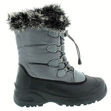 Cold Front Women's Snow Siren Winter Boot Grey Size 7 @-3 Day FREE Shipping NIB