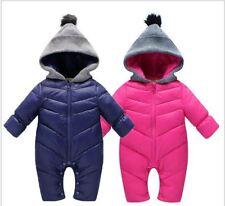 Snow Proof Baby Ski Snow Suit Infant Winter Snowsuit Hoodie Size 00 - 2