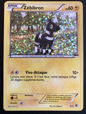 Carte Pokemon ZEBIBRON 6/12 Holo Mozaïque Promo MC DONALD FR NEUF