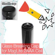 Stealthy de ruptura final/Tapa De Cola Para Mini Linterna Antorcha MagLite células 2AAA/