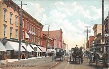 1907 Stores Broad St. Red Bank NJ post card