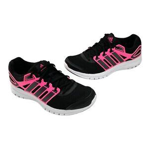 Adidas Aidprene Duramo 6 Athletic Running Shoes Black & Pink Size 7