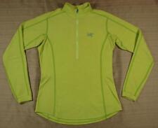 Women's Arc'teryx Delta LT ½ Zip-Neck Top Medium M paradise base layer shirt