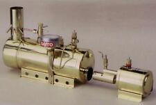 "Genuine, new Saito ""Boiler & Burner Set B3""   -for genuine steam locomotion!"