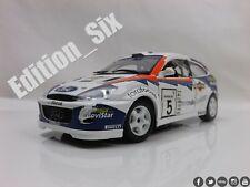 Burago 1:24 2002 FORD FOCUS WRC Rally race car
