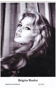BRIGITTE  BARDOT - hollywood MOVIE star  GLAMOUR  modern 2000 postcard