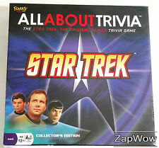STAR TREK TOS 2008 ALL ABOUT TRIVIA QUIZ Fundex New Complete Game Kirk Spock