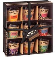 Barista Coffee Co. Collection Mini Travel Takeout Cups Flavoured Coffee Mix Set