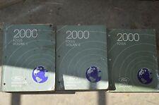Ford Focus For 2000 Dealer Shop Manual BAPA