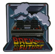 Back to The Future Delorean Limited Edition Enamel Pin Badge