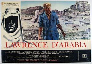 5 fotobuste film LAWRENCE OF D'ARABIA Peter O'Toole Omar Sharif David Lean 1963