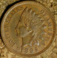 1895 Indian Head Cent - EXTREMELY FINE, EXACTLY AS SHOWN (K831)