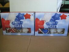 Patriotic Star Light String Set, (Two Boxes) 4th July Decoration