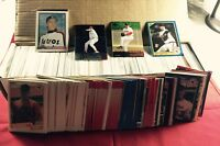 Collection Lot of 900 Assorted Curt Schilling Baseball Cards All Years Companies