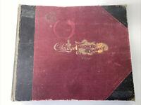 Vintage 1904 Spring Summer Chicago Tailoring Company Salesman's Sample Catalog