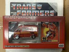 TAKARA E-Hobby limitada Cybertron Ironhide Transformers Edición Coleccionista en Caja Como Nuevo