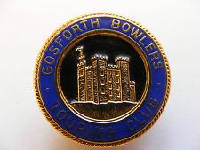 Lapel Pin Badge Gosforth Bowlers Touring Club