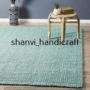 Braided Handmade Bohemian Natural Jute Rectangle 3x5 Feet Floor Carpet Area Rugs