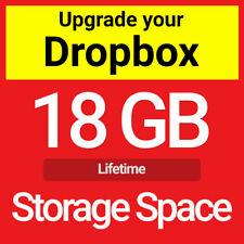Dropbox 18 GB Lifetime Upgrade Permanent Space Friends Referral Service