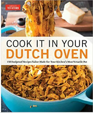 New listing Cook It in Your Dutch Oven by America's Test Kitchen'' (P.D;f)