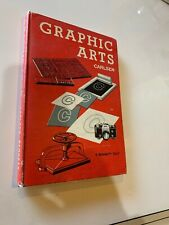 Graphic Arts, A Bennett Text, Darvey Carlsen, 1958 2nd Printing