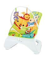 Stylish Buddies Baby Rocker Animal Bouncer Chair With Soothing Music Vibrations
