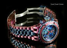 Invicta 40mm Reserve WOMEN'S Specialty Subaqua Noma Burgundy & Blue Quartz Watch