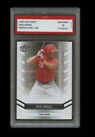 NICK SENZEL 2016 LEAF DRAFT 1ST GRADED 10 ROOKIE BASEBALL CARD CINCINNATI REDS