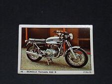 #46 BENELLI TORNADO 650 S ITALIA MOTO 2000 PANINI EDITIONS DE LA TOUR 1973