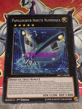 Carte Yu Gi Oh PAPPILLOCOEUR INSECTE NUMERIQUE MP17-FR028 x 3