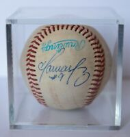TOMAS PEREZ Autographed GAME USED RAWLINGS Baseball -TORONTO BLUE JAYS, PHILLIES