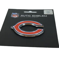 New NFL Chicago Bears Auto Car Truck Heavy Duty Metal Color Emblem