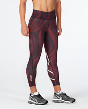 2XU - Women's Mid Rise Print 7/8 Comp.Tight (WA4629b-TMC/WHT) Size:XL - 60% Off