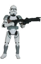 """Star Wars Revenge of the Sith (3.75 Inch) Clone Trooper """"Coruscant with Rifle"""""""