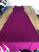 """NEW!! Stunning DIANE VON FURSTENBERG Raspberry Pink """"Ayya"""" Evening DRESS 12"""