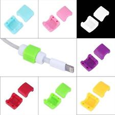5PCS Protector Saver Cover for Apple iPhone Lightning USB Charger Cable Cord
