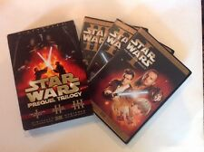 Star Wars Prequel Trilogy (DVD,2008,6-Disc,Widescreen) Authentic US