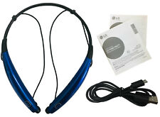 LG Tone Pro HBS 770 Bluetooth Wireless Stereo Headset Magnetic Earbuds - Blue