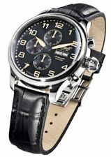 Relojes de pulsera automático de acero inoxidable calendario perpetuo