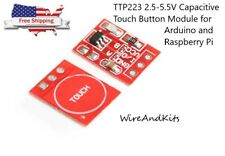 1 X Ttp223 25 55v Capacitive Touch Button Module For Arduino Rpi Us Seller