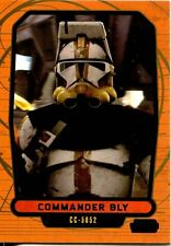 Star Wars Galactic Files 2 Blue Parallel Base Card #455 Commander Bly