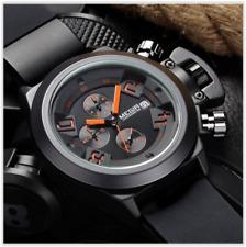 Orologio Uomo Cronografo-Data MEGIR Acciaio Multi-Function FORCE-AIR ML2076GBK-4