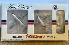 Aero Classics Braniff International Airways DC-6 / DC-3 with GSE Set 1:400