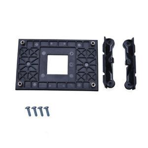 CPU Socket Mount Cool Fan Heatsink Bracket Dock For AMD AM4 B370 X350 A320 Black