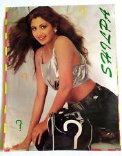 Rare Vintage Bollywood Poster - Shilpa Shetty - 16 inch X 21 inch