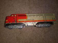 MARX SANTA FE 21 Engine Vintage O Scale Model Train Used Good Condition