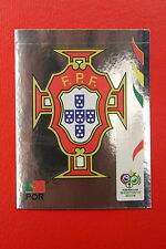 PANINI FIFA WORLD CUP GERMANY 2006 06 n. 283 PORTUGAL BADGE  MINT!!!