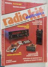 RADIO KIT ELETTRONICA 2 Febbraio 1989 CW Calibratore di tensione Lineare FL 2100