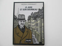 LE JUGE ET SON BOURREAU EO1989 TBE FRIEDRICH DURRENMATT EDITION ORIGINALE