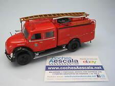 Salvat Bomberos Magirus Merkur A-3500 TLF Pompier Madrid 1961 Ixo 1/43 Hachette
